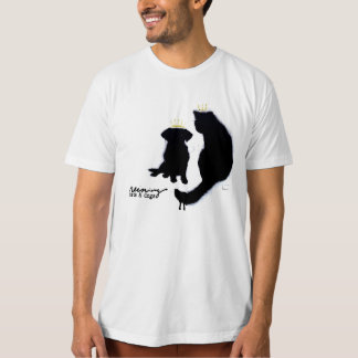 """It's Reining Cats & Dogs"" T-Shirt"
