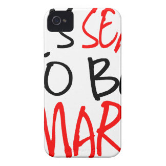 it's sexy to be smart iPhone 4 cover
