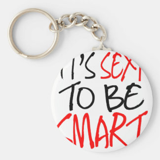 it's sexy to be smart key ring