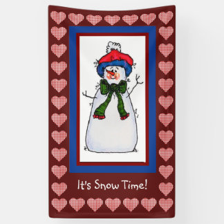 It's Snow Time Banner