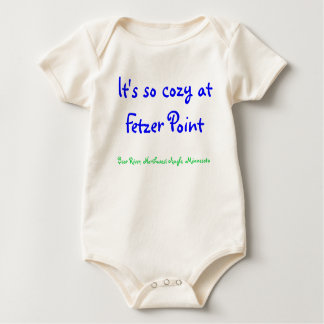 It's so cozy at Fetzer Point Baby Baby Bodysuit