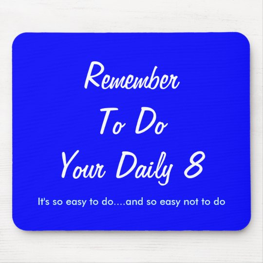 It's so easy to do.... mouse mat
