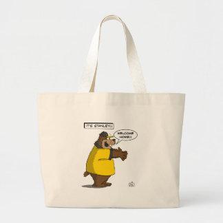 IT'S STANLEY !!!! JUMBO TOTE BAG