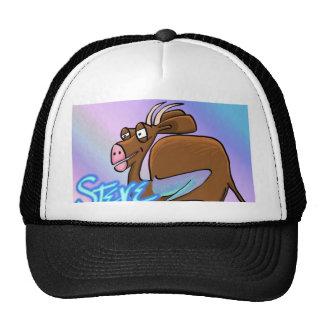Its Steve Mesh Hats