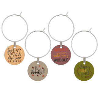 It's Thanksgive y'all Wine Glass Charms