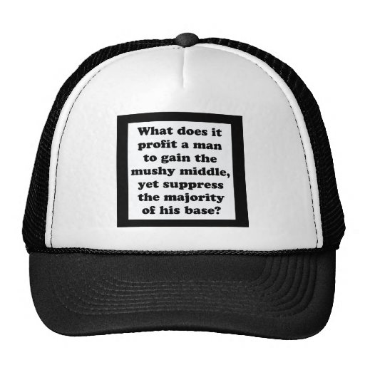 It's The Base, Sir! Mesh Hats