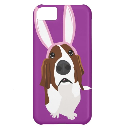 It's the Easter Basset iPhone 5C Covers