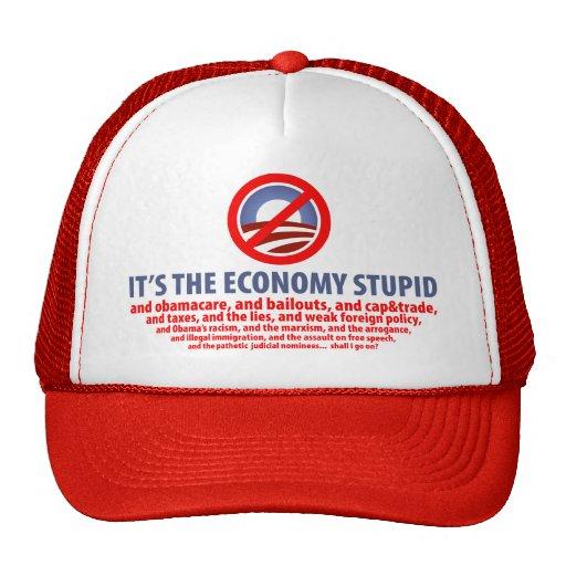 It's the Economy Stupid... Trucker Hat
