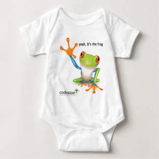 It's the Frog Baby Bodysuit