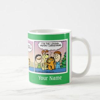 """It's the Loving"" Garfield Comic Strip Mug"