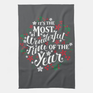 It's The Most Wonderful Time Of Year Towel