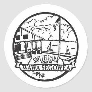 It's the official Smith Park Logo! Classic Round Sticker