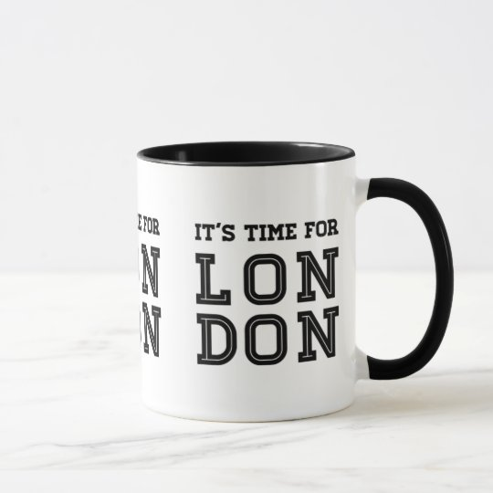 It's Time For London Mug