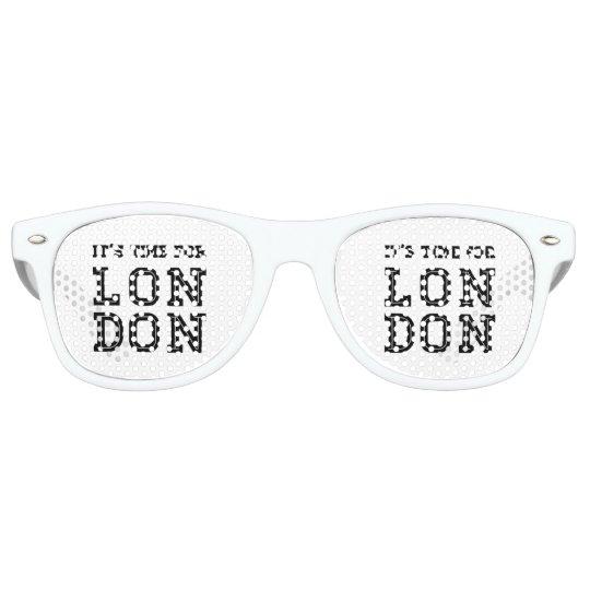 It's Time For London Retro Sunglasses
