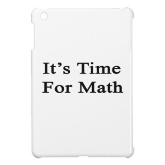 It's Time For Math iPad Mini Cover