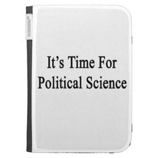 It's Time For Political Science Cases For The Kindle
