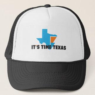 IT'S TIME TEXAS Trucker Hat
