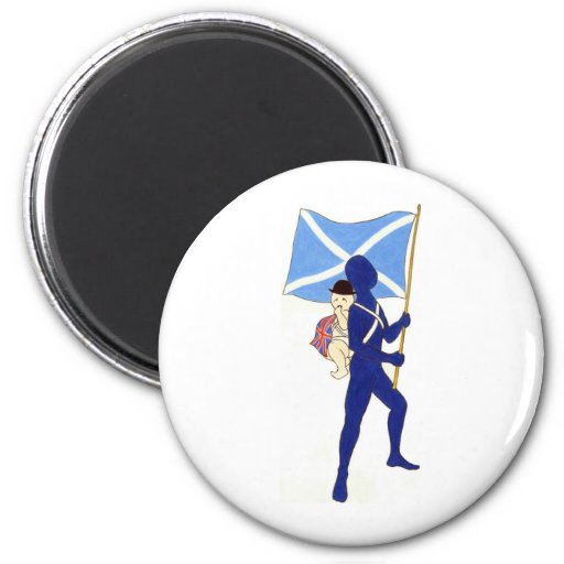 It's Time (to lay that burden down) Independence X Fridge Magnets