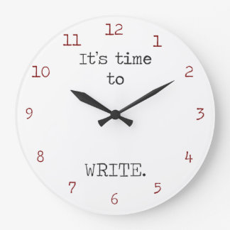 It's Time to Write Large Clock