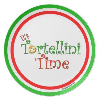 It's Tortellini Time Plate