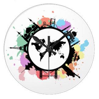 It's travel time wall clocks