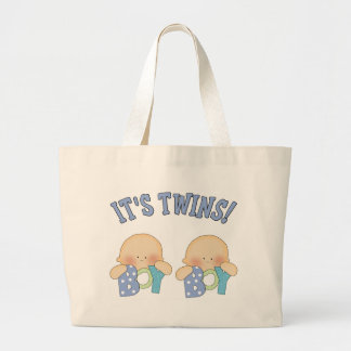 ITS TWINS (Boy Boy) Jumbo Tote Bag