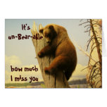 It's un-Bear-able Greeting Card