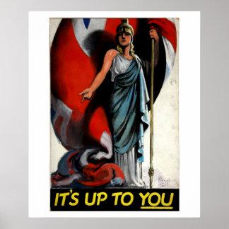 It's up to You (Britannia)_Propaganda Poster