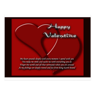 It's Valentine's day 1 Postcard