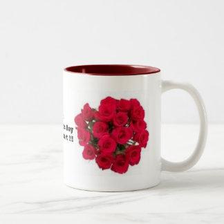 its Valentine's DaySweet Heart !!! Two-Tone Mug