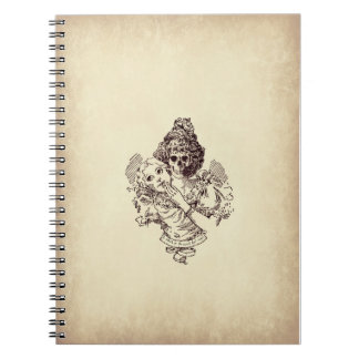 It's what's inside that counts. spiral note book
