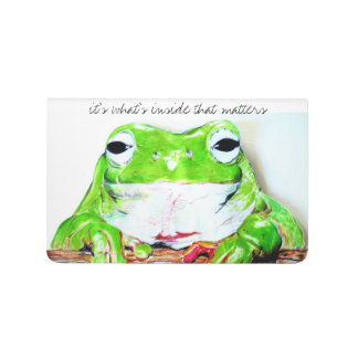 It's what's inside that matters tree frog journal