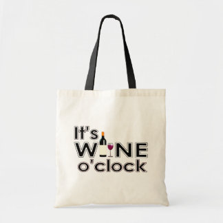 It's Wine O'Clock Tote Bag