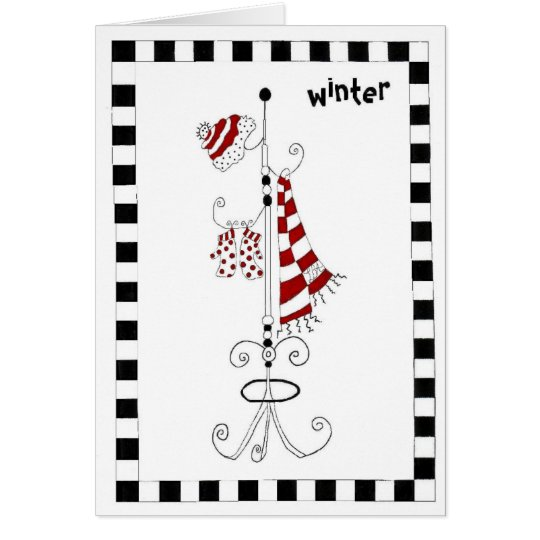 It's Winter Card