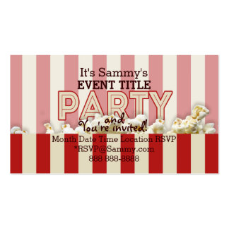 It's Your Personalized Party Supply. Double-Sided Standard Business Cards (Pack Of 100)
