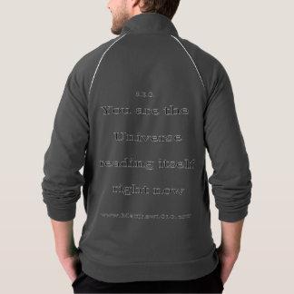 Itself aa fleece zip jog track jackets