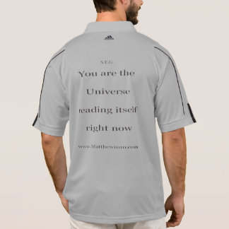 Itself climalite 1/2 zip long sleeve polo shirt