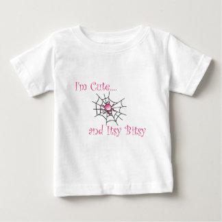 Itsy Bitsy Spider Girl Baby T-Shirt