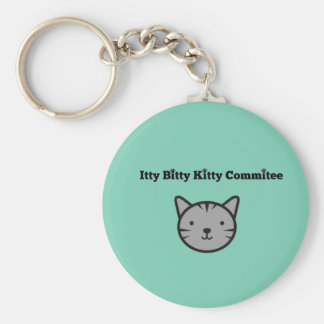 Itty Bitty Kitty Committee Keychain