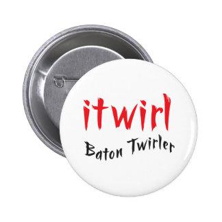 itwirl 6 cm round badge