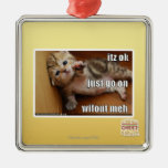 Itz ok, just go on wifout meh christmas tree ornaments