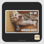 Itz ok, just go on wifout meh square stickers