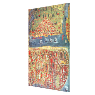 IUK T.5964 View of Istanbul Canvas Print