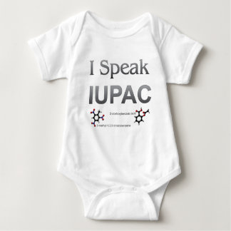 IUPAC International Union Pure & Applied Chemistry Baby Bodysuit