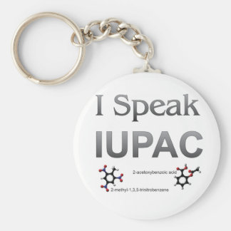 IUPAC International Union Pure & Applied Chemistry Key Ring