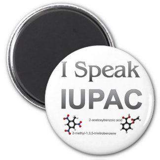 IUPAC International Union Pure & Applied Chemistry Magnet