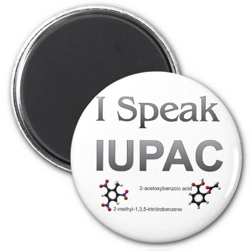 IUPAC International Union Pure & Applied Chemistry Refrigerator Magnets