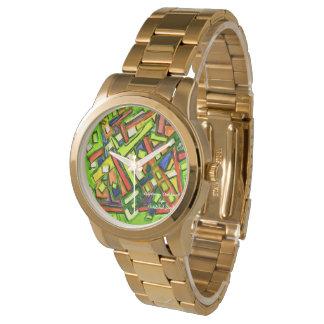 iUptown Oakland Gold Bracelet Watch