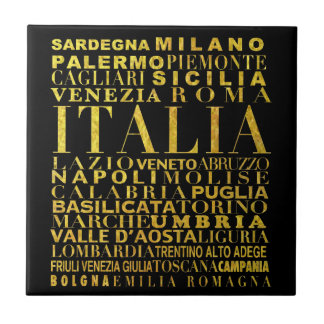 IV - ITALIA UNITA black Ceramic Tiles