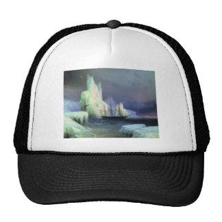 Ivan Aivazovsky- Icebergs in the Atlantic Hats
